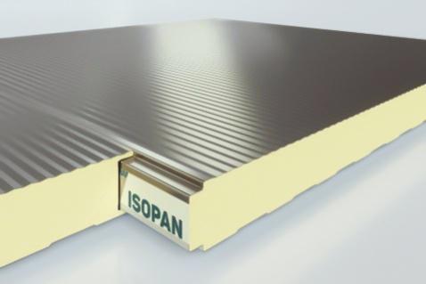 Stenové sendvičové panely ISOBOX PLISSE
