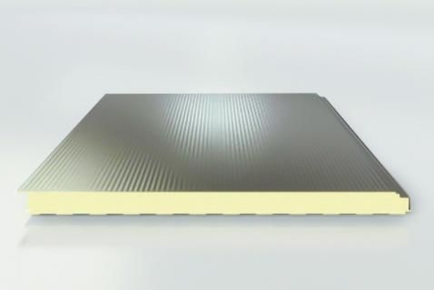 Stenové sendvičové panely ISOPARETE PLISSE